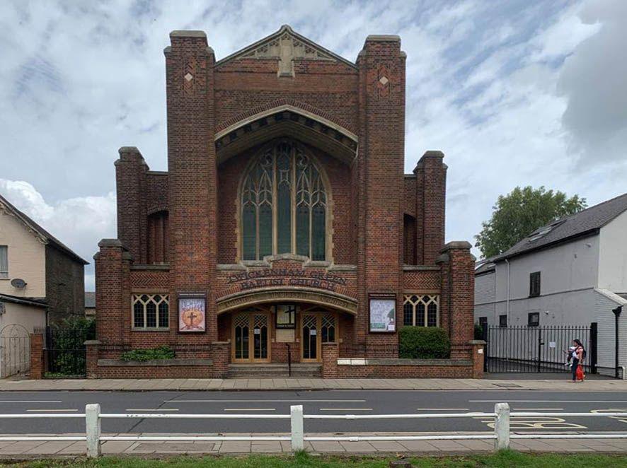 Front of Twickenham Green Baptist Church